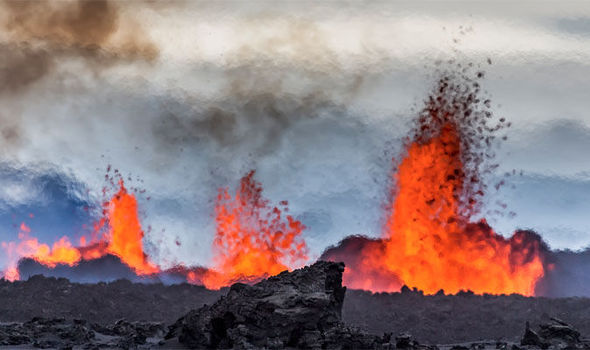 is world getting more volcanic huge magma build up beneath under