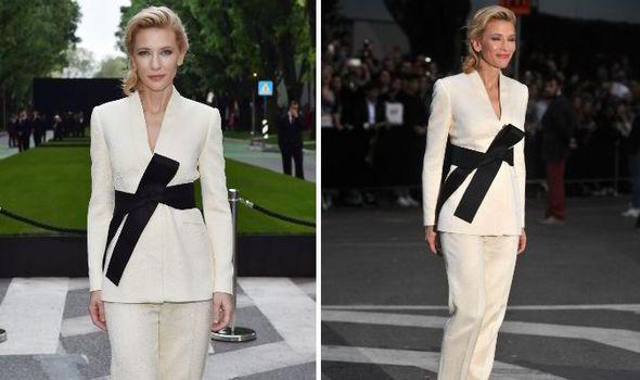 0ce10ca65b7 Cate Blanchett leads glamour at Giorgio Armani s 40th anniversary ...