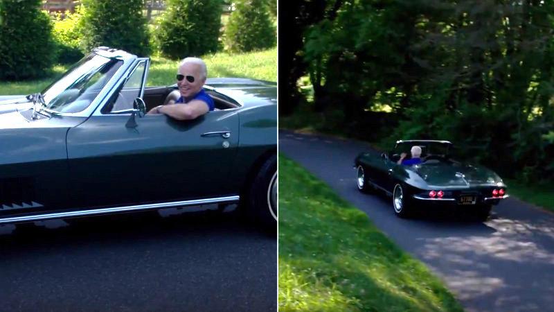 Joe Biden Talks About His C2 Corvette Stingray In Twitter Video Autoblog
