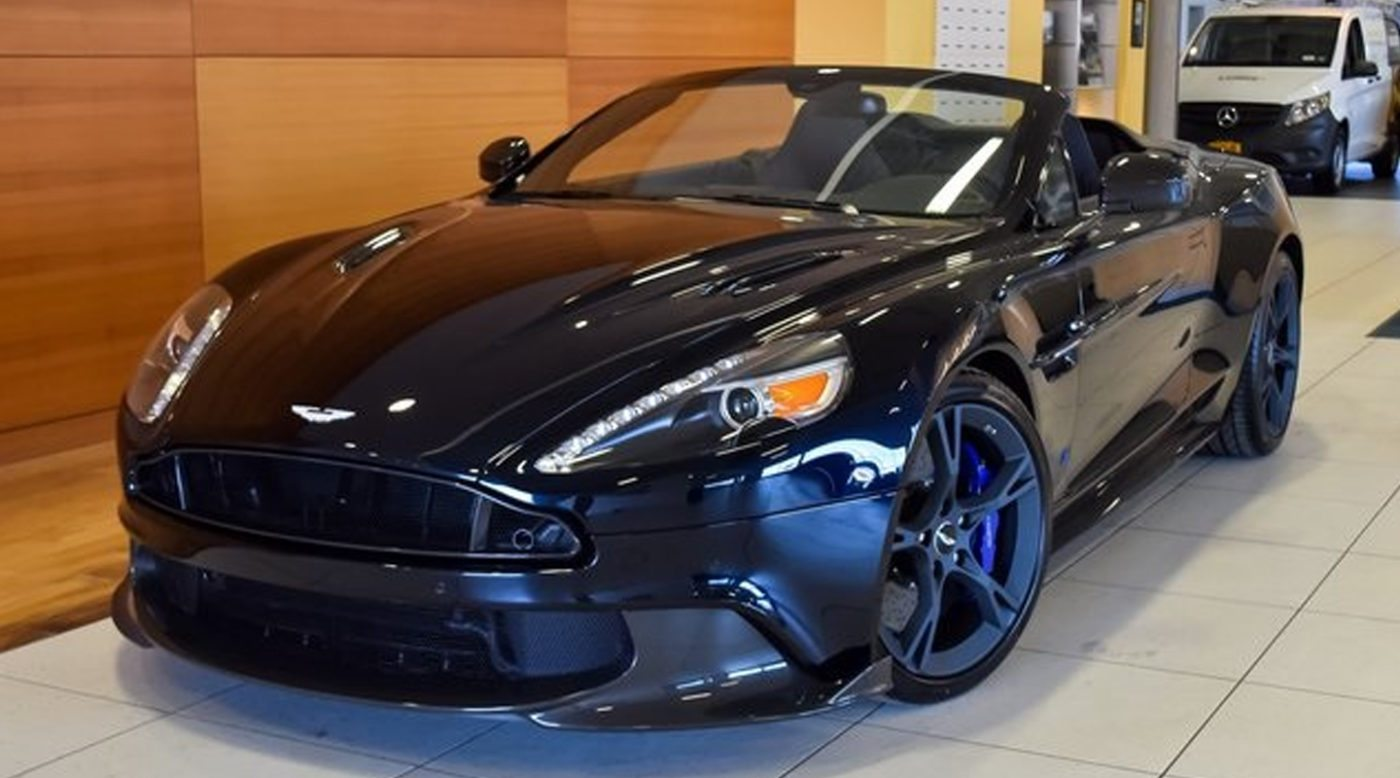 2018 aston martin tom brady edition vanquish s volante for sale