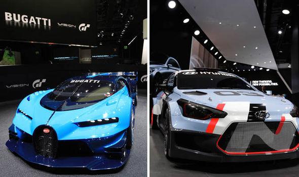 Bugatti And Hyundai
