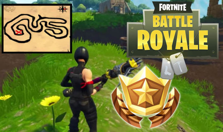 Fortnite Salty Springs Treasure Map Challenge Guide For Season 4