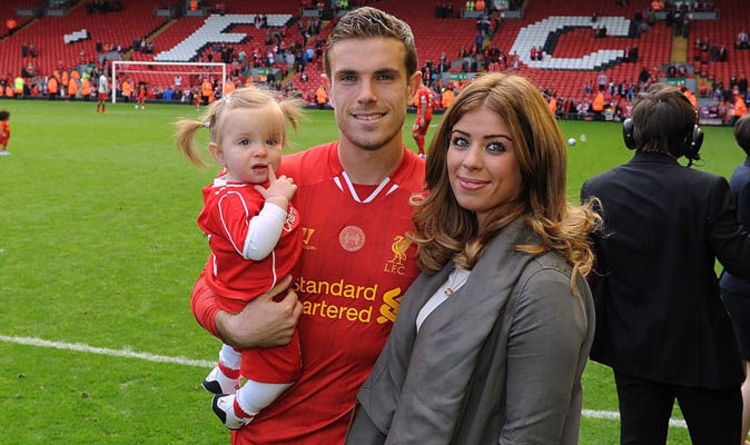 1ee67e0eb Jordan Henderson wife: Who is Rebecca Burnett? Do they have children? WORLD  Cup ...
