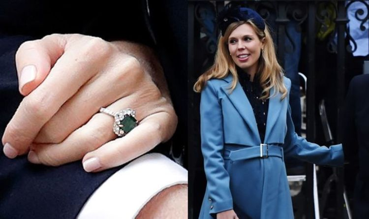 Carrie Symonds Engagement Ring From Boris Johnson Is An