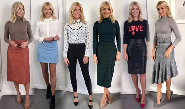 a9021877087 Holly Willoughby style  This Morning dresses and outfits in pictures