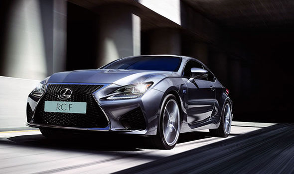 The Lexus Rc F Boasts A Mive 5 0 Litre V8 Engine