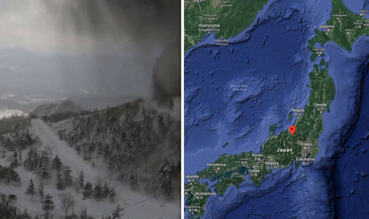 Japan volcano MAP: Where is Mount Kusatsu-Shirane? Eruption kills ...