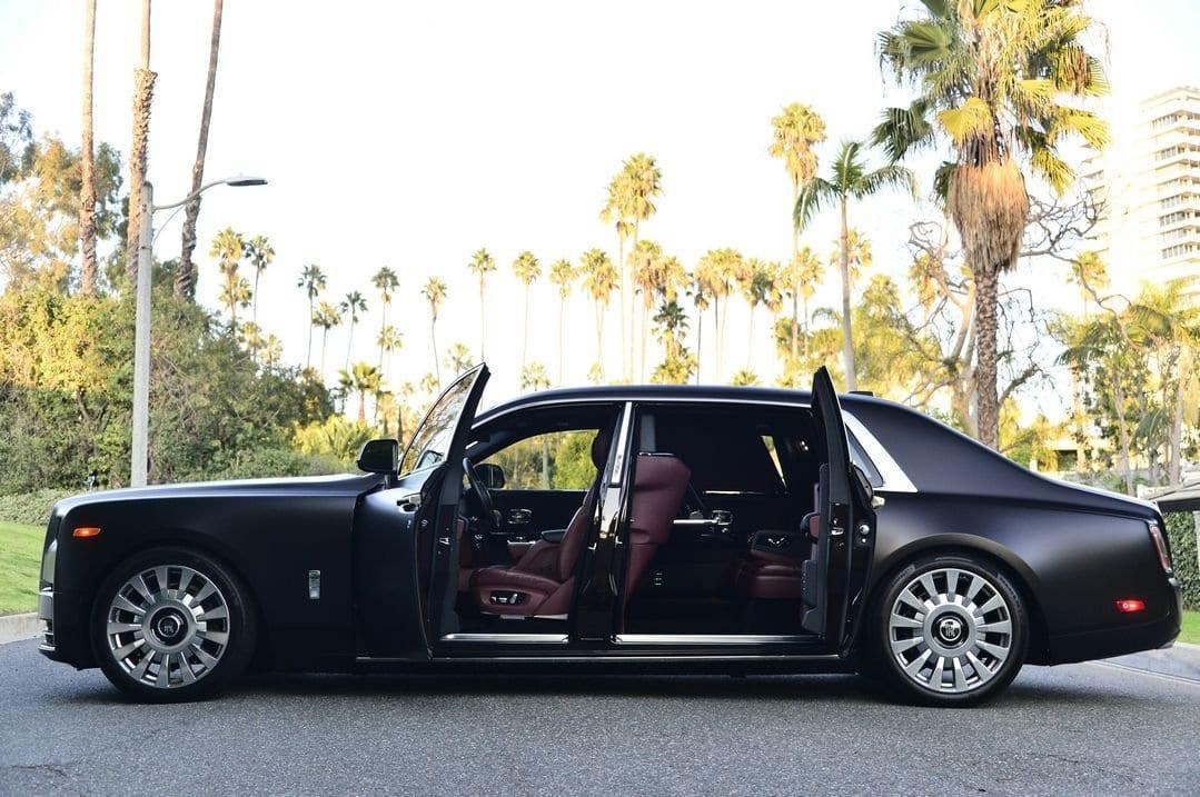 Matte Black 2018 Rolls Royce Phantom Ewb For Sale