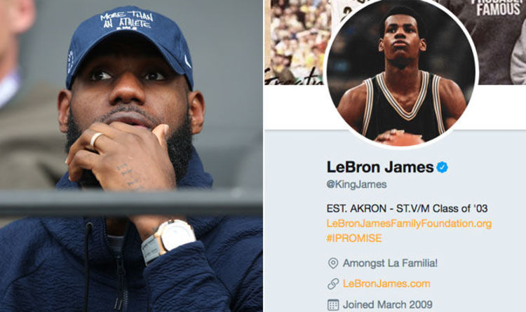 LeBron James sends Twitter into meltdown after tweeting THESE three words 0037120dc