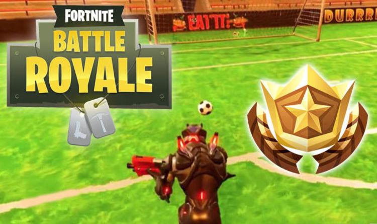 Fortnite Pitches Soccer Week 7 Challenge Guide For Score A Goal On Different