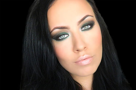 Makeup Tips For Green Eyes And Black