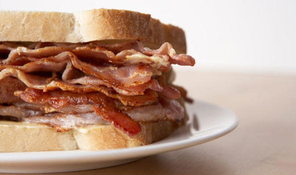 Image result for bacon sandwich