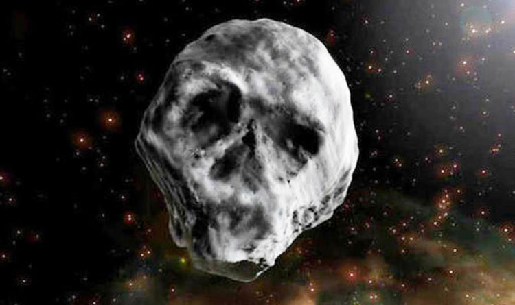 Skull Asteroid TB145 WARNING: Death Comet will skim Earth after ...