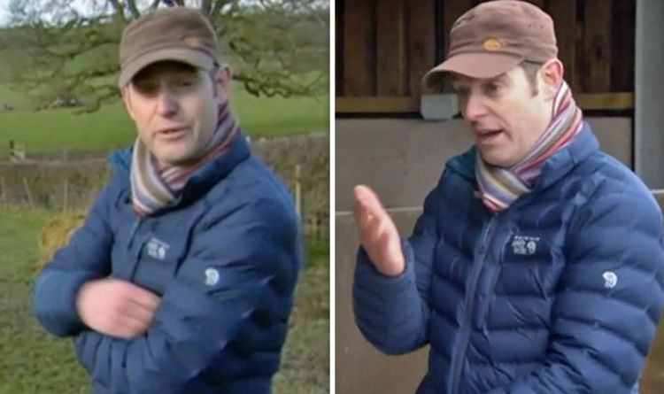 Countryfile  Matt Baker SPAT AT while filming tonight s BBC episode  You  want a bit   b802850e5dac