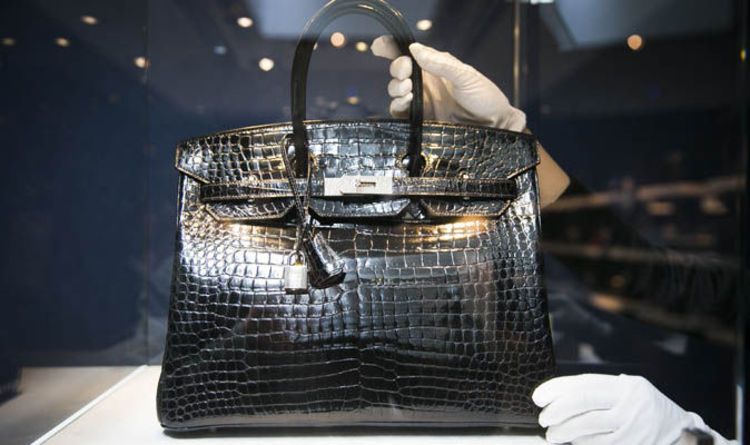 Crocodile Hermes Birkin Bag Sned Up For 125 000 At First Handbags Only Uk News Express Co