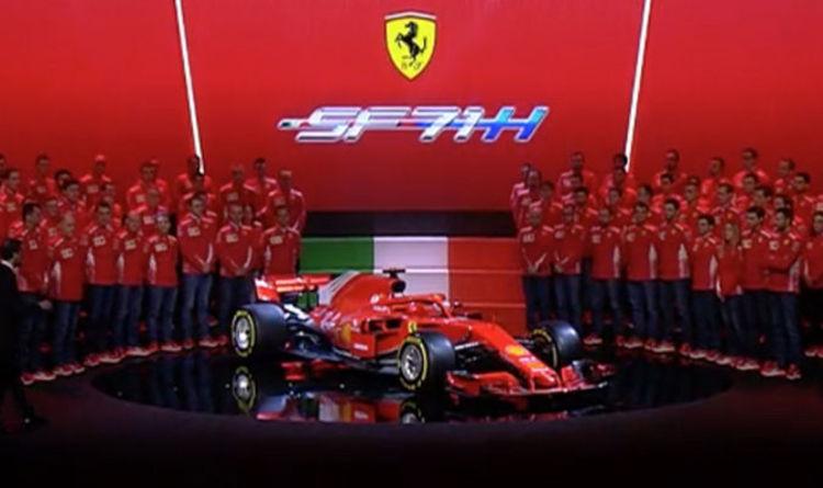 Ferrari F1 2018 Car Launch Sebastian Vettel And Kimi Raikkonen Unveil Unique Feature