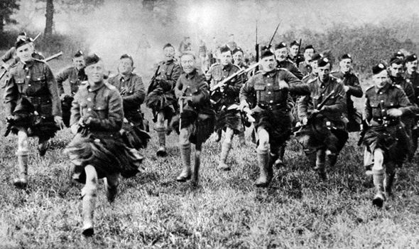 Scotland the brave: Tough 'kilties' battled for Britain in
