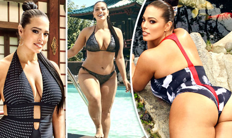 Ashley Graham flaunts KILLER curves and eye popping cleavage