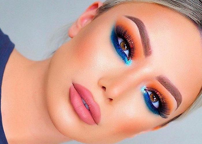 Imagini pentru makeup colorful