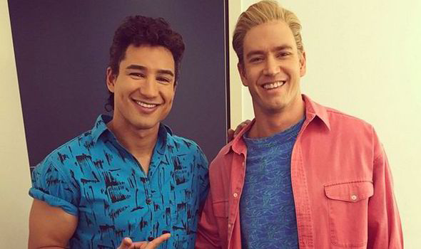 mario lopez saved by the bell age