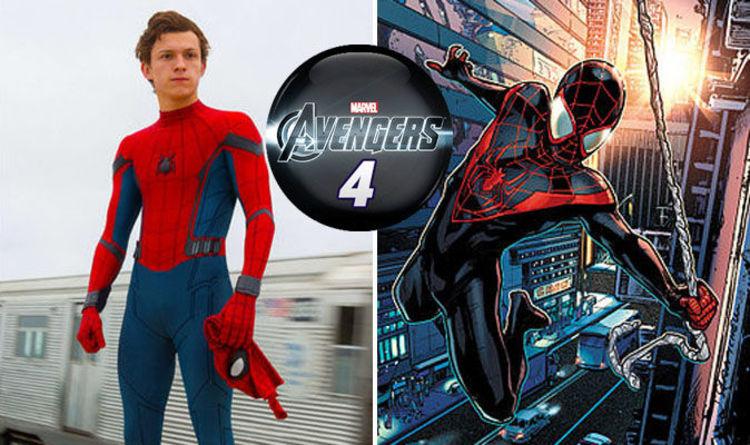 Avengers 4 SHOCK? Spot Miles Morales in Spider-Man