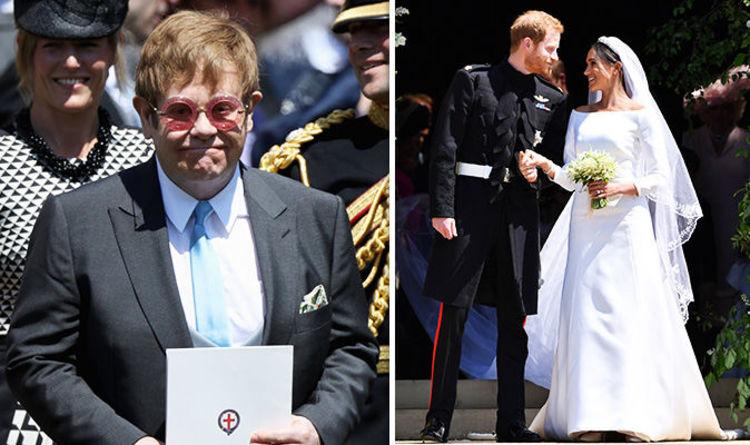 Elton John Performs For Meghan Markle And Prince Harry Live At Royal Wedding 2018 Celebrity News Showbiz Tv Express Co Uk