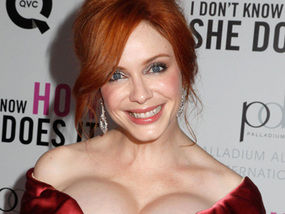 Christina Hendricks Should Probably Play It A Bit Safer