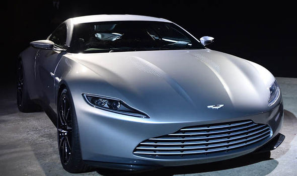 WATCH James Bonds Spectre Aston Martin DB For Sale Expresscouk - James bond aston martin db10