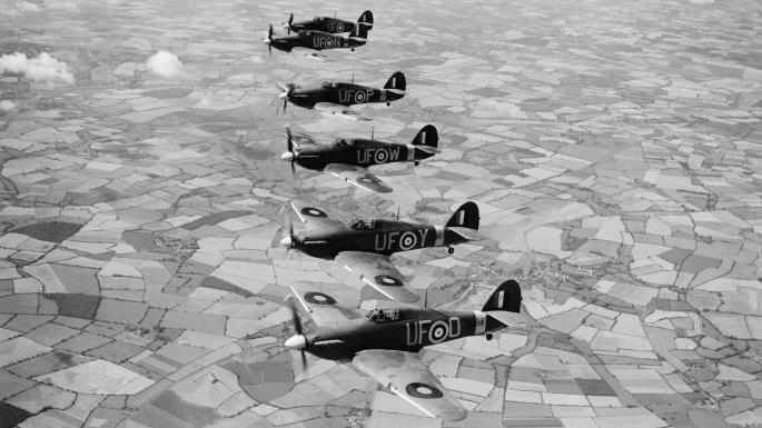 Millionaires' 601 Royal Auxiliary Air Force Squadron is