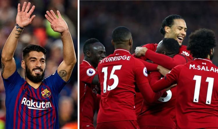 cfd99da4f Luis Suarez reveals the ONE Liverpool star he has spoken to 'a lot' ahead  of Barcelona tie