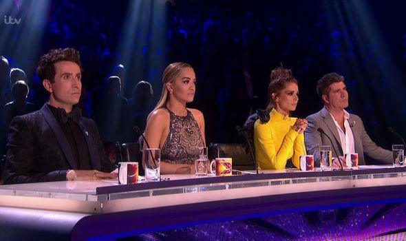 X Factor Judges Panel 2017