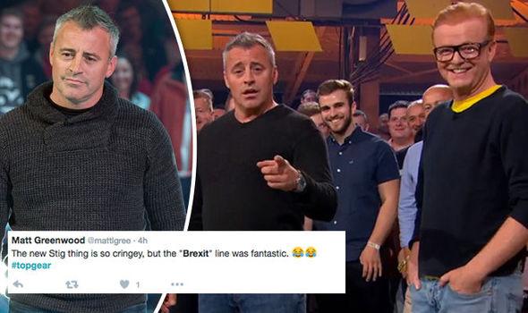 Top Gears Matt Leblanc Leaves Viewers In Stitches With Fantastic Brexit Joke Tv Radio Showbiz Tv Express Co Uk