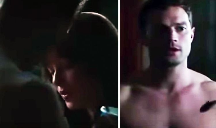 Jamie Dornan Fifty Shades Sex Scenes With Dakota Johnson Win Prize