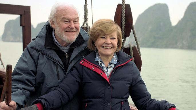 prunella scales husband