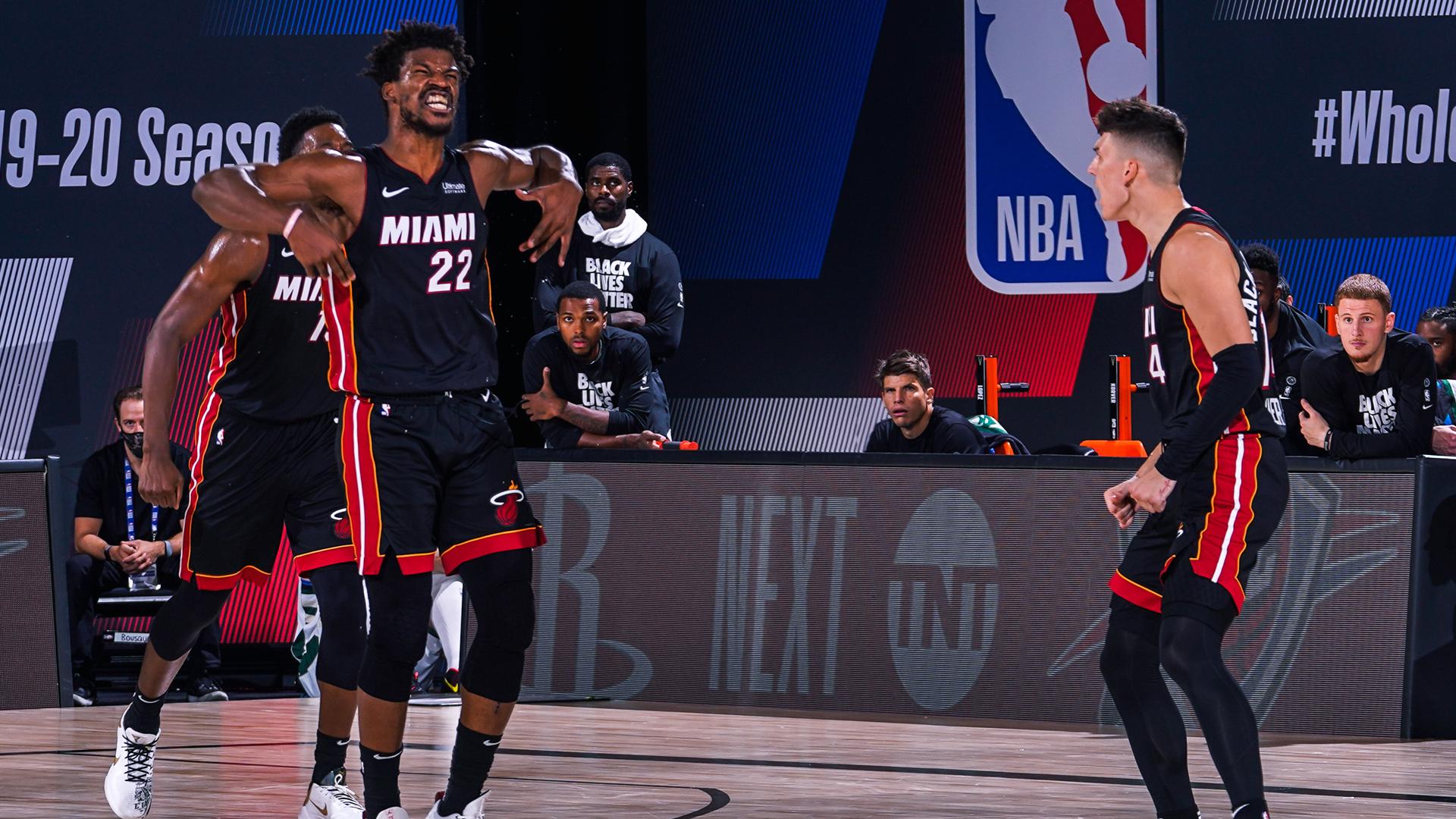 Jimmy Butler Not Surprised With Heat Game 3 Win Vs Bucks Talkbasket Net