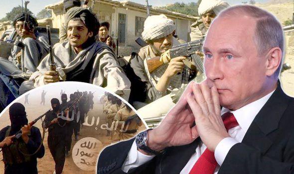 Svart aterta talibanbelagrad stad