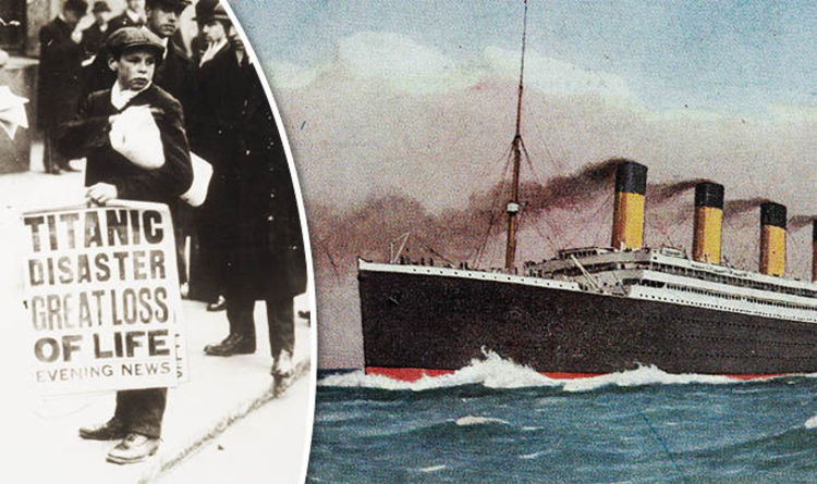 When Did The Titanic Sink How Many People Died History News Express Co Uk