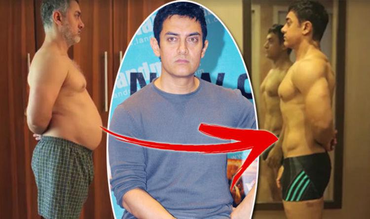 Weight Loss Aamir Khan Body Transformation For Movie Expresscouk