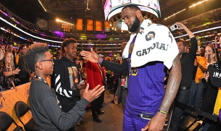 95da46544 Lakers news  LeBron James reveals what his son did to make him  proud  and  reveals regret