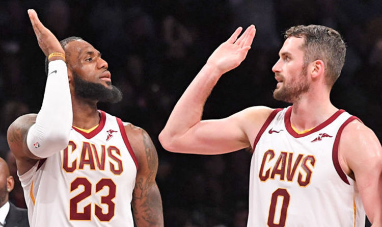c61722ed4127 LeBron James  Kevin Love reveals what he told James after Lakers move