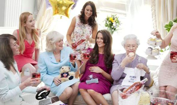 Duchess Of Cambridge Becomes First Royal To Have A Baby Shower