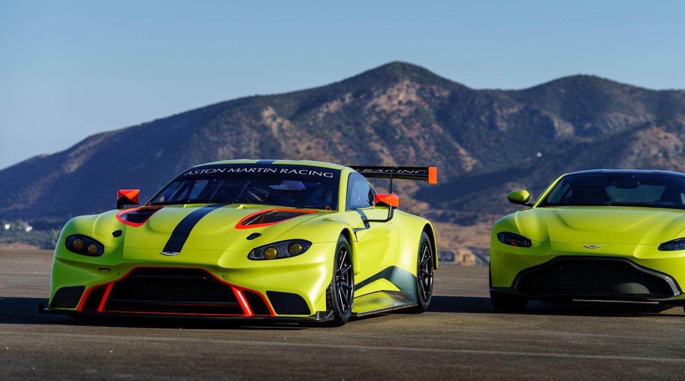 Surprise 2018 Aston Martin Vantage Gte Race Car Revealed
