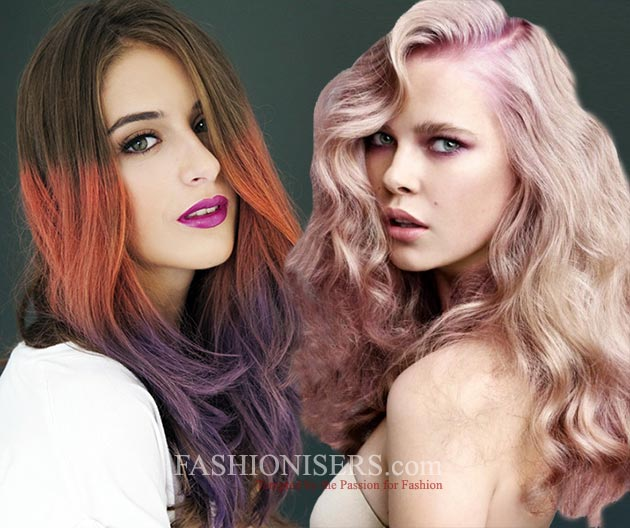 How to Dye Hair Two Colors At Home | Fashionisers©