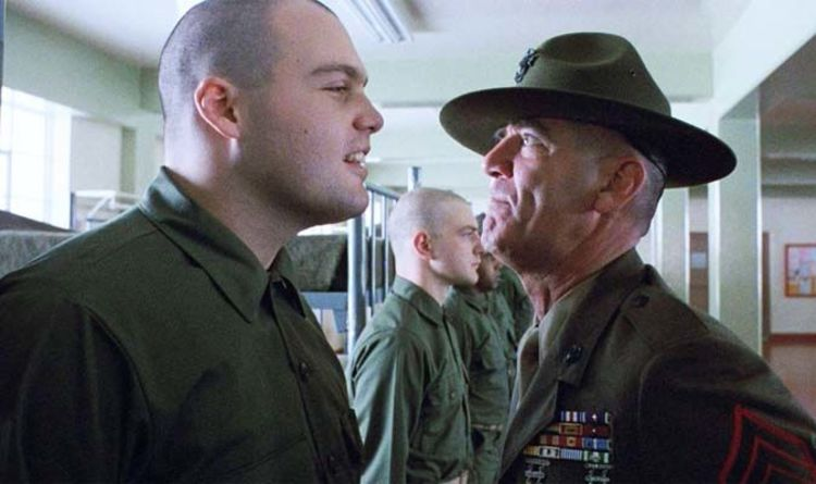 Full Metal Jackets R Lee Ermey Dead He Was Real Life Drill Sergeant Films Entertainment Express Co Uk