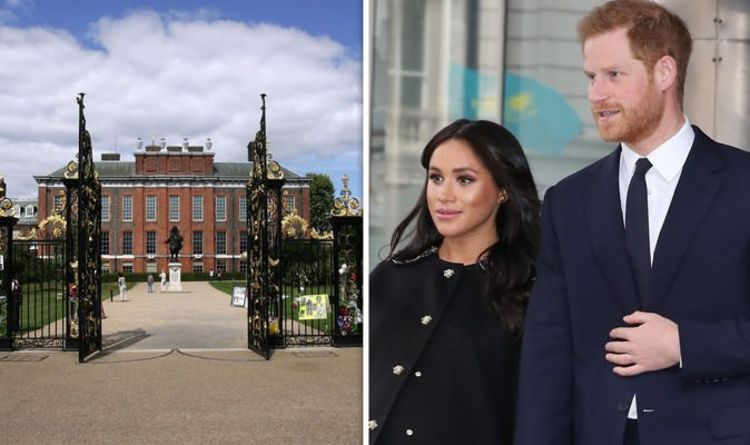 Why couldn't Prince Harry and Meghan Markle stay at Kensington Palace?