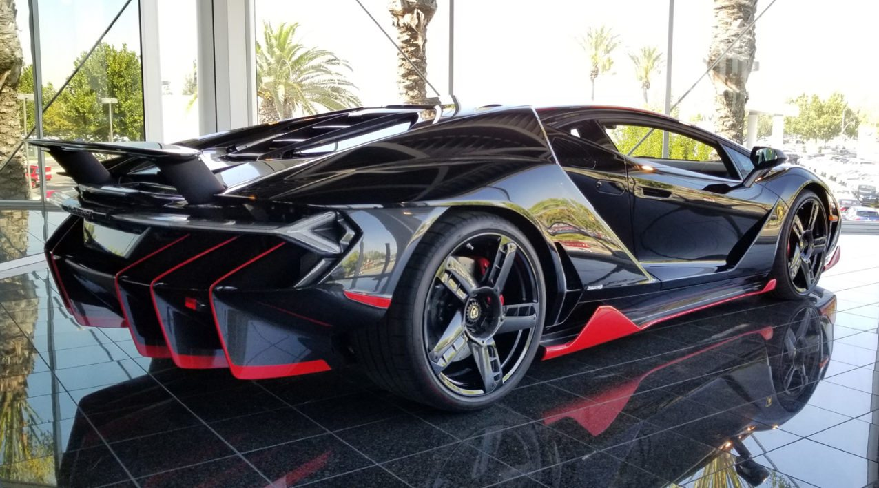 First Lamborghini Centenario For Sale In The Us