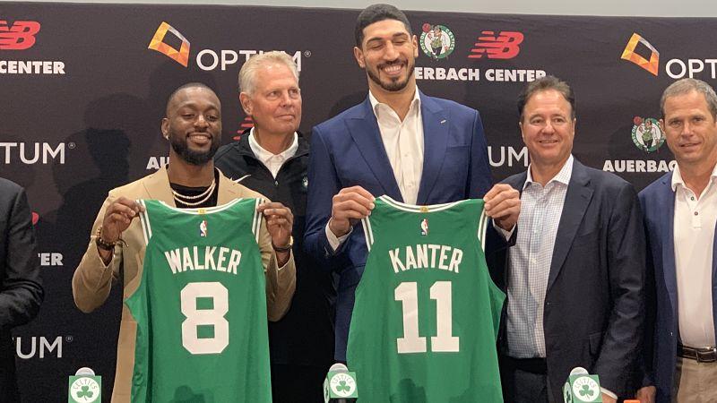 cheaper 6afdc 6adb9 Why 8? Kemba Walker Explains Reason Behind Celtics Jersey ...