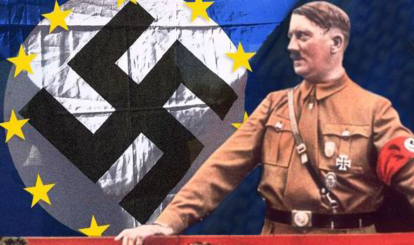 The EU was HITLER'S idea and it proves Germany WON the