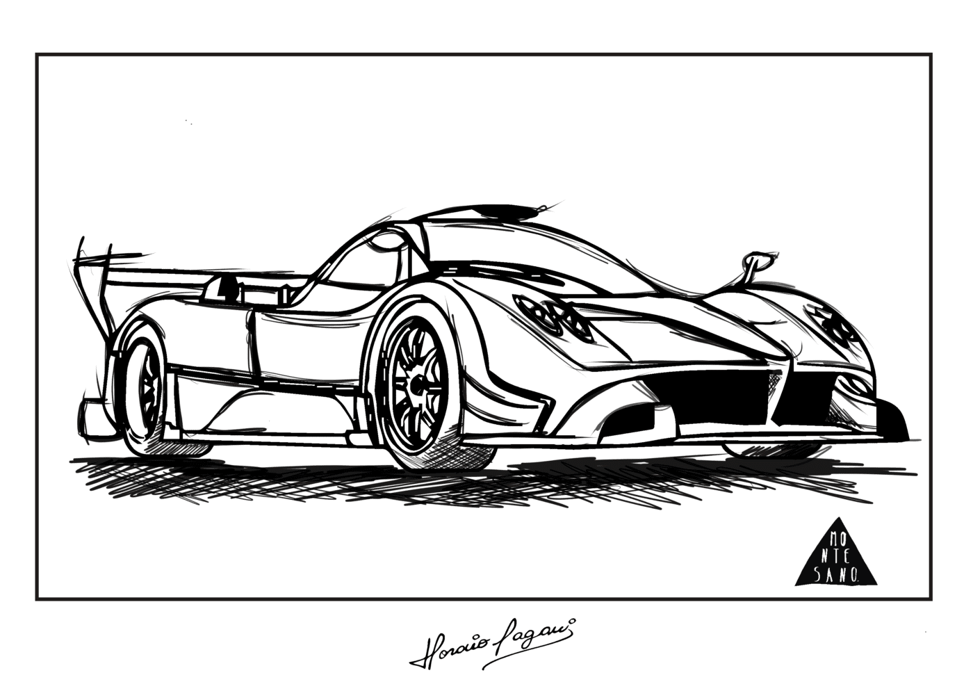 Paint Your Own Pagani