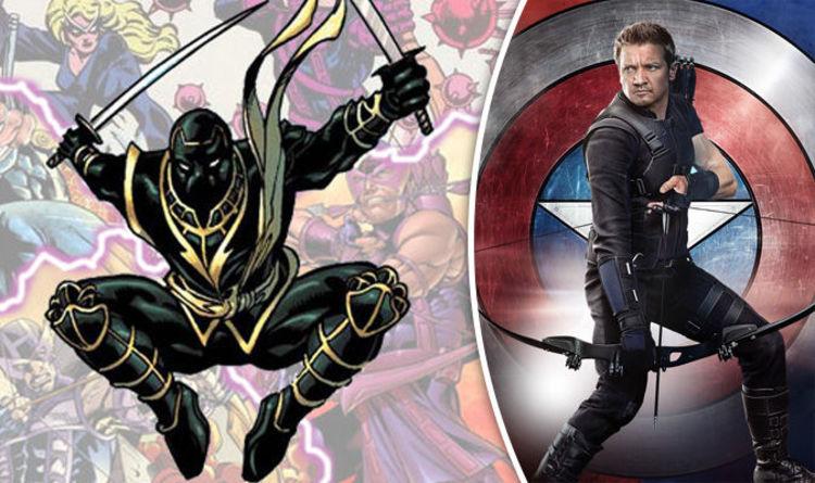 avengers infinity war: hawkeye avengers 4 set photo confirms ronin